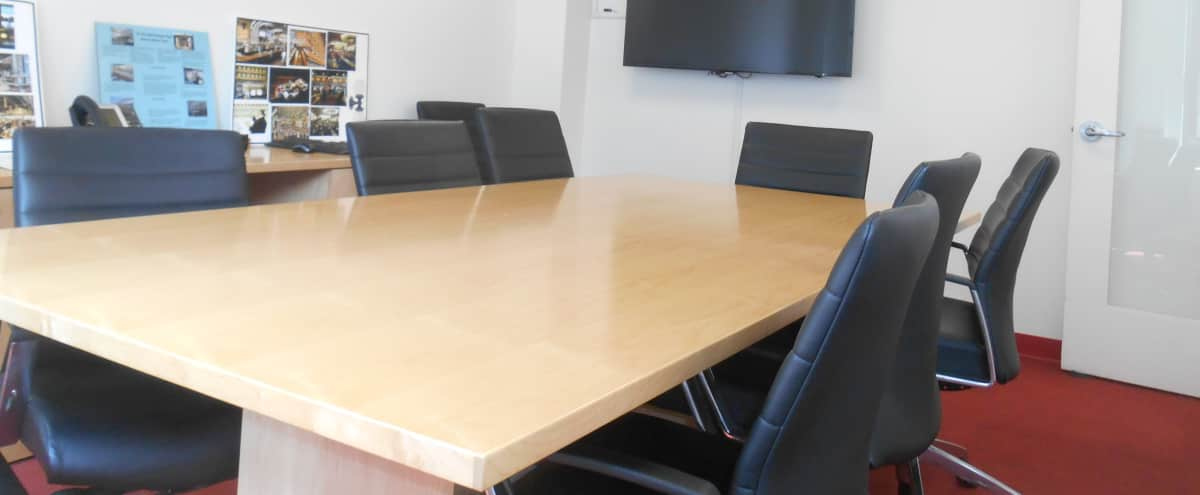 Modern Conference Room available for Rent in the heart of Manhattan in New York Hero Image in Midtown, New York, NY