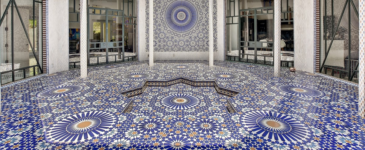 Moroccan Dream Villa with Millions of Handcrafted Tiles in Hollywood Hills in Los Angeles Hero Image in Hollywood Hills, Los Angeles, CA