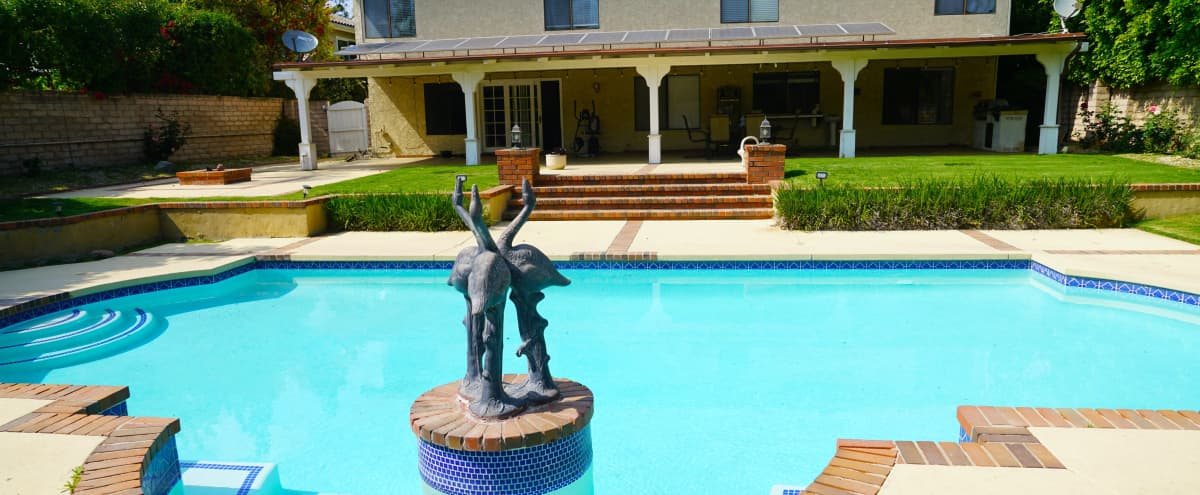 Large Suburban Single-Family Pool Home in Devonshire Country Estates in Northridge Hero Image in Northridge, Northridge, CA