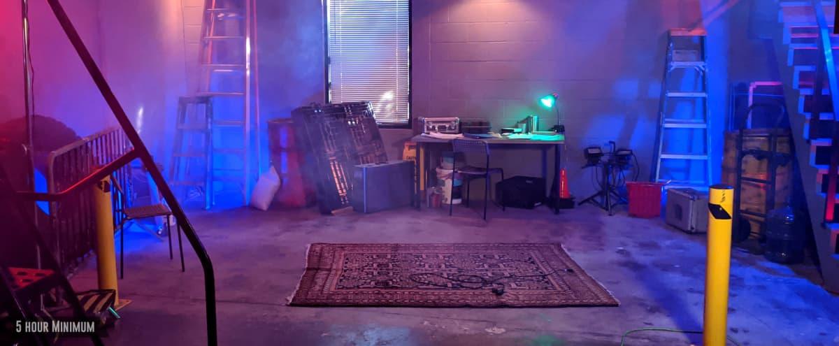 WAREHOUSE Grunge Bunker Base Police Thug Hideout Gang Workshop Hangout in Burbank Hero Image in undefined, Burbank, CA