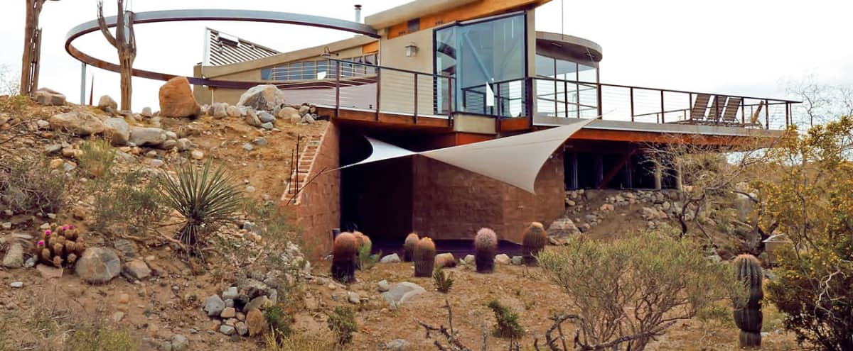 A transforming house?  Meet Harmony Sails! in Morongo Valley Hero Image in undefined, Morongo Valley, CA