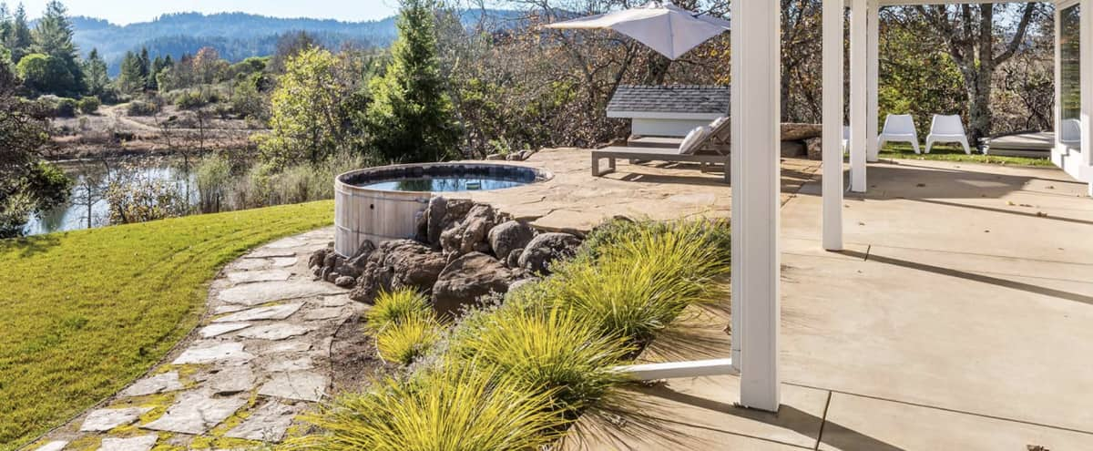 Stunning Dry Creek Estate with Captivating Views and Great Light in Healdsburg Hero Image in undefined, Healdsburg, CA