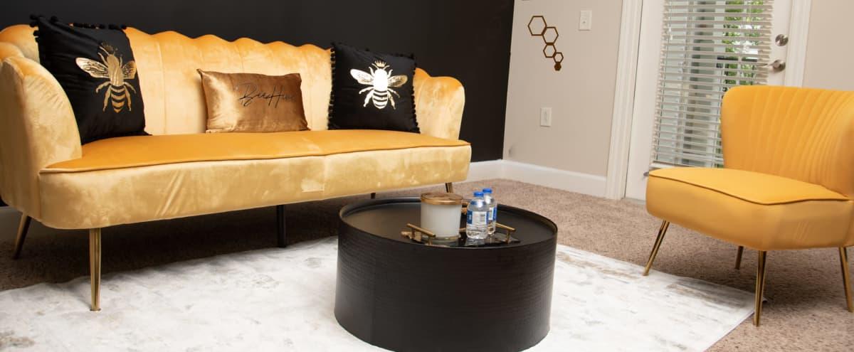 The Black and Gold Bee Themed in Atlanta Hero Image in Northlake, Atlanta, GA