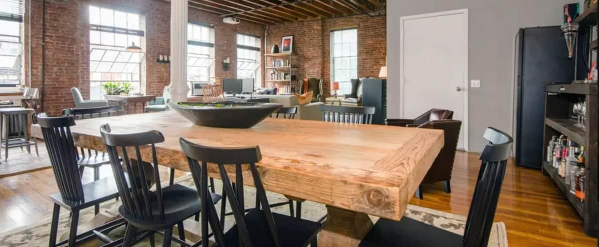 Spacious, Quiet New York Dream Loft in NEW YORK Hero Image in West Village, NEW YORK, NY