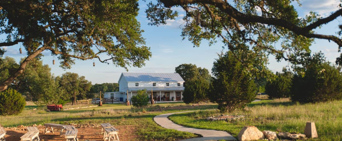 2,200 sqft Event Venue with lodging: gorgeous hill country setting! in Dripping Springs Hero Image in undefined, Dripping Springs, TX