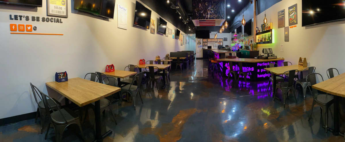 Bar Restaurant with Huge Entertainment Centers in Monrovia Hero Image in undefined, Monrovia, CA
