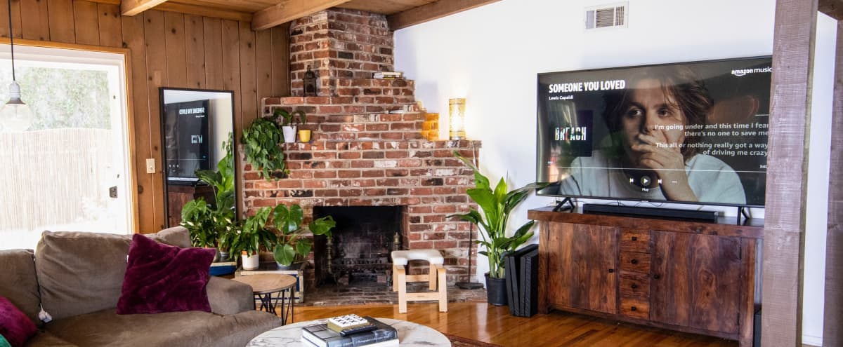 A cabin feeling house with a real fireplace. in Sherman Oaks Hero Image in Sherman Oaks, Sherman Oaks, CA