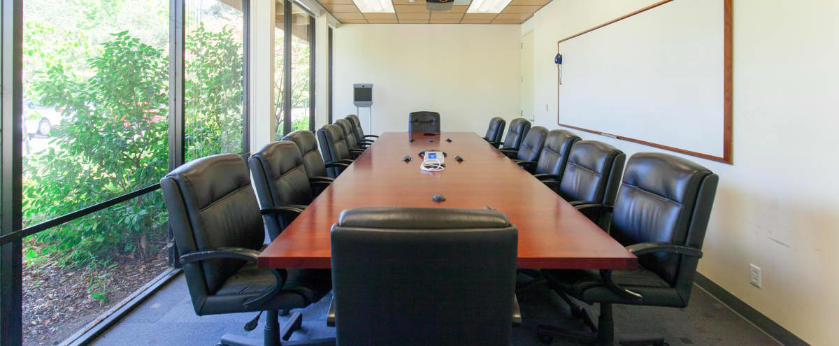 Executive Board Meeting Room in Menlo Park Hero Image in Linfield Oaks, Menlo Park, CA