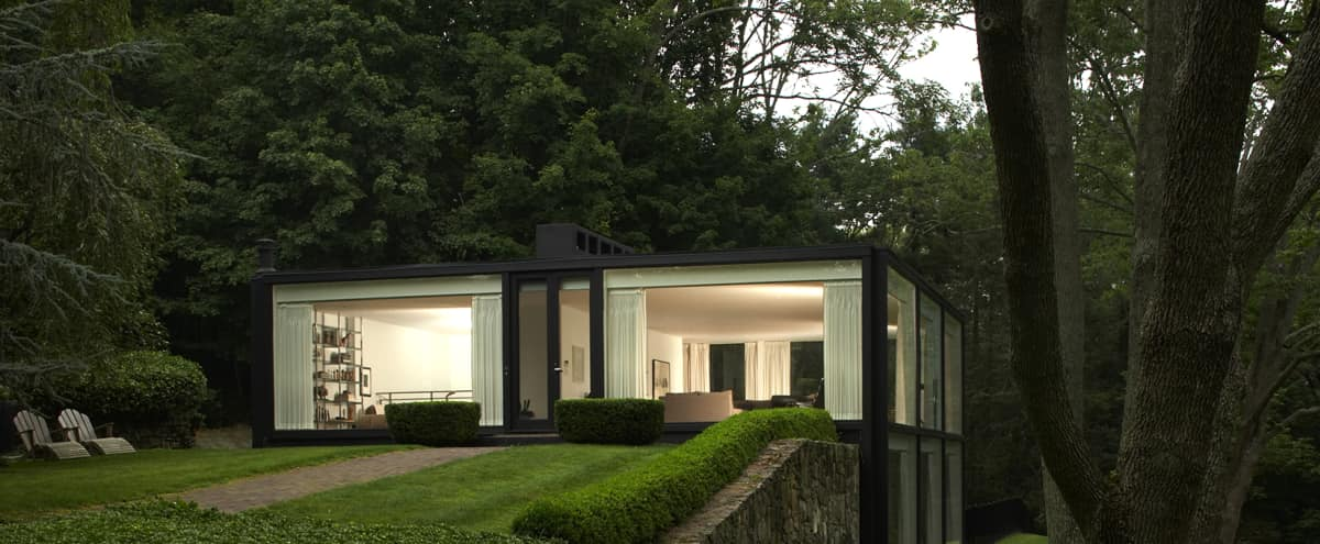 Mid-Century Modern Glass House on 2.5 Acres in Chappaqua Hero Image in undefined, Chappaqua, NY