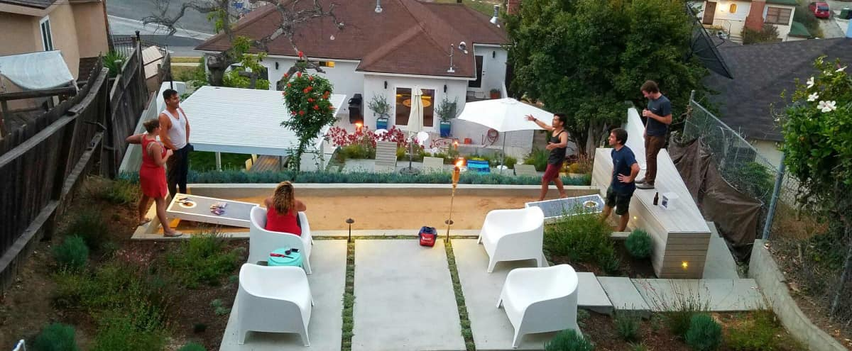 High-End Spacious Home with Renovated Multi-Tier Yard in Los Angeles Hero Image in South Los Angeles, Los Angeles, CA