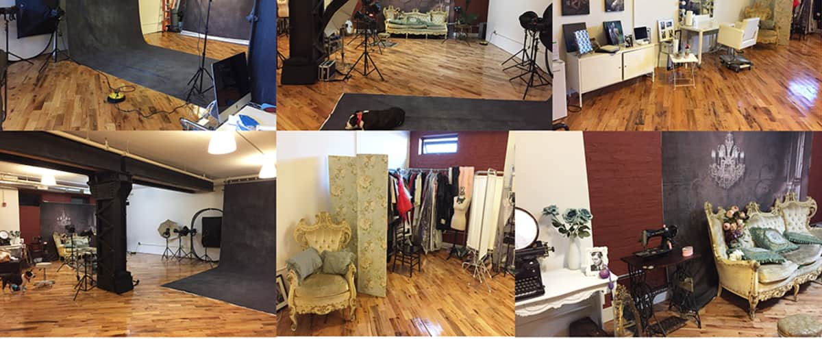Spacious 1300 sq ft Fully Equipped Photo Studio in the Heart of Dumbo in Brooklyn Hero Image in Vinegar Hill, Brooklyn, NY