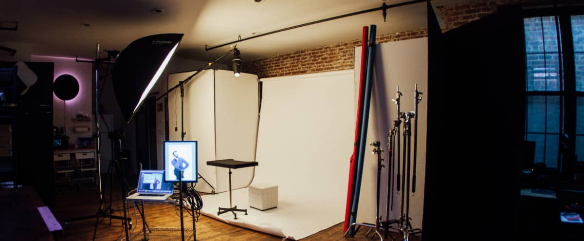 Creative Studio with Photography + Video Equipment in Brooklyn Hero Image in Clinton Hill, Brooklyn, NY