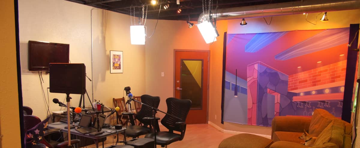 Fully Furnished Video Streaming, Recording Studio and Meeting Space Near Downtown Austin in Austin Hero Image in East Austin, Austin, TX