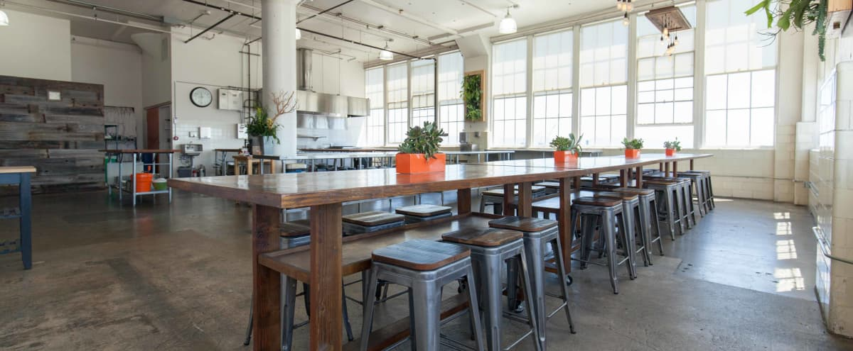 Stunning Large Airy Well-Lit San Francisco Event Space That Overlooks the Bay in San Francisco Hero Image in Dogpatch, San Francisco, CA