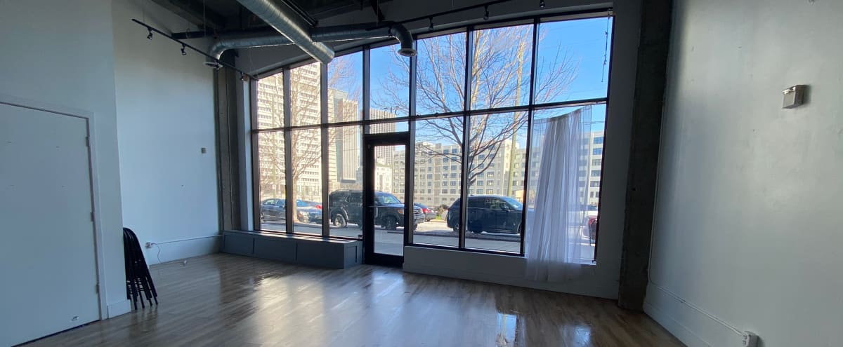 Bright, open space ready to be transformed! Great downtown location in Atlanta Hero Image in Downtown Atlanta, Atlanta, GA