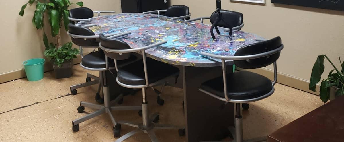 8 Person Meeting Room in Creative Studio in Hallandale Beach Hero Image in undefined, Hallandale Beach, FL