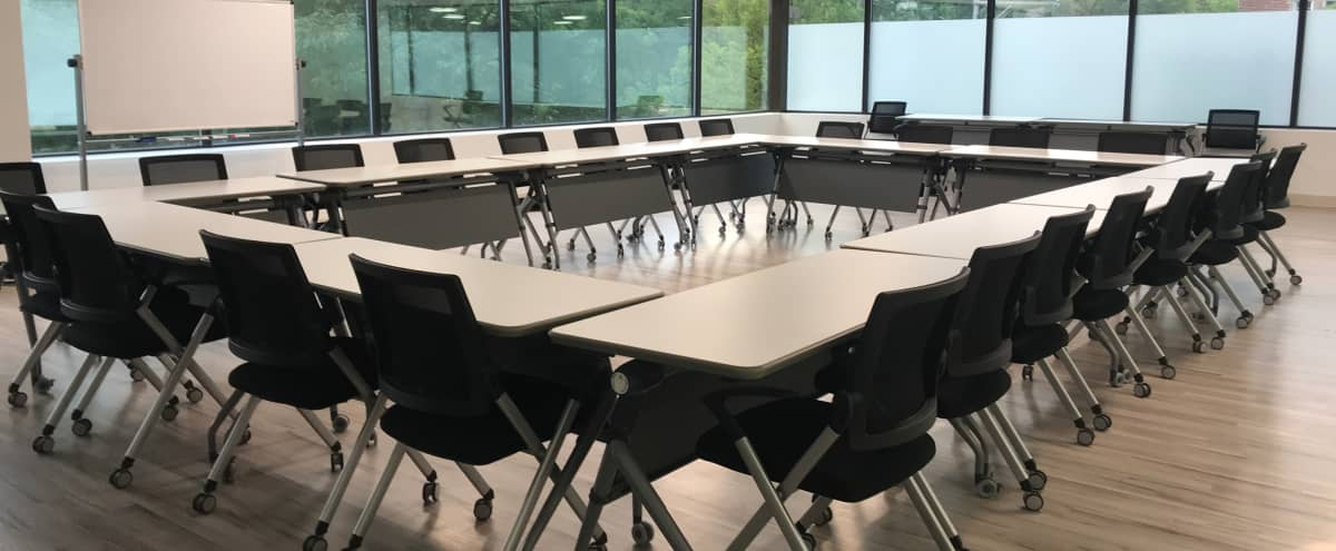 Naturally Lit Classroom & Training Space in Denver Hero Image in Hale, Denver, CO