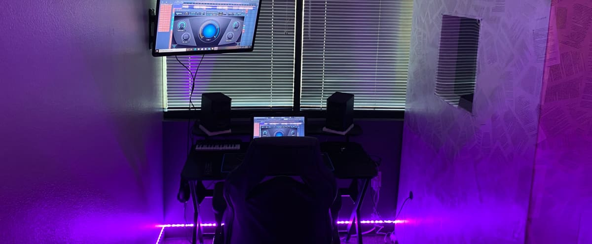Recording Studio w/ Vocal Booth & a Modern Feel in Glendale Hero Image in undefined, Glendale, AZ