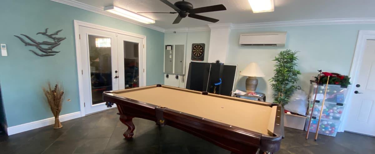 Water View Game Room in St Petersburg Hero Image in Coquina Key, St Petersburg, FL