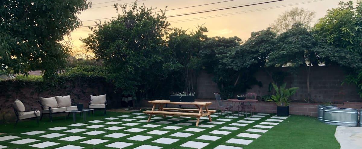 Huge Modern Backyard for Outdoor Parties in Northridge Area in North Hills Hero Image in North Hills, North Hills, CA