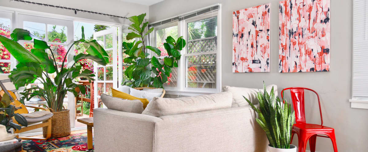 Affordable Abbot Kinney Home ft. Lush Private Garden in Venice Hero Image in Venice, Venice, CA