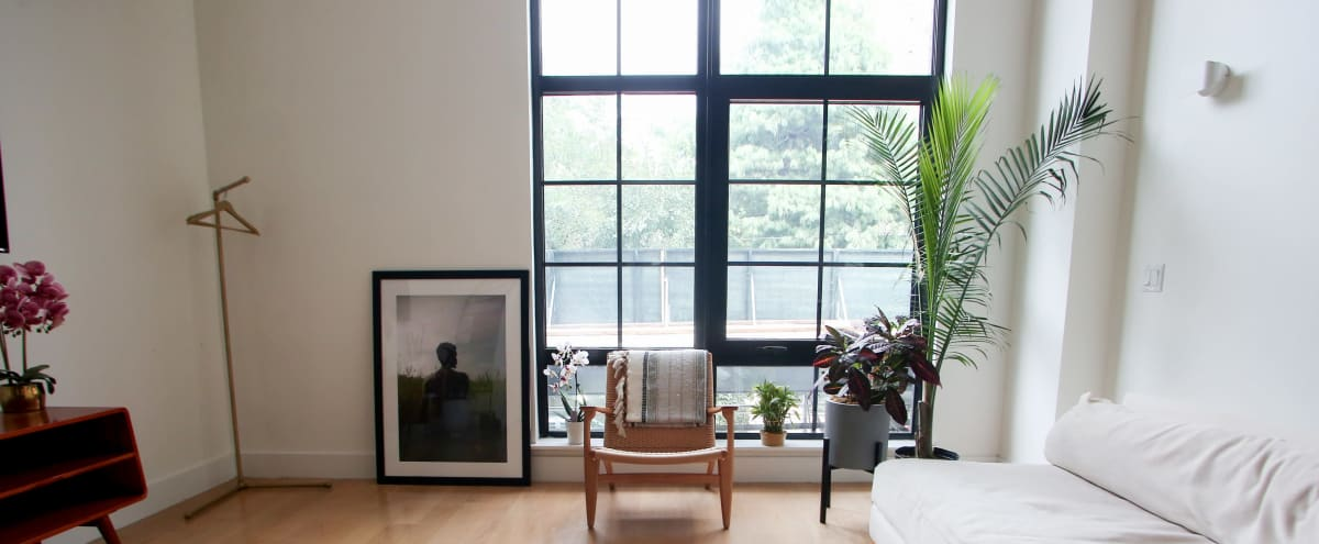 Beautiful South Bronx Studio Loft With 15' Ceiling- Natural Lighting in Bronx Hero Image in Port Morris, Bronx, NY