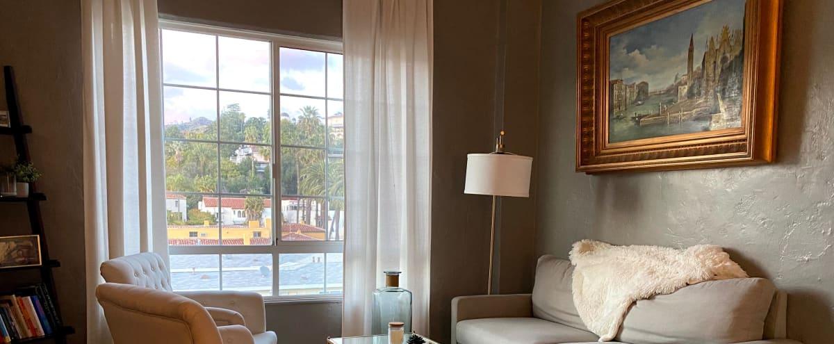 Los Angeles VIEWS in this Mid-Century Modern Apartment! in Los Angeles Hero Image in Los Feliz, Los Angeles, CA