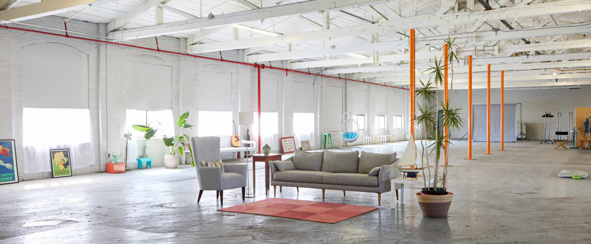 12,000 sq./ft. minimalist warehouse loft offers countless possibilities with its airy expansive layout in Passaic Hero Image in Southside, Passaic, NJ