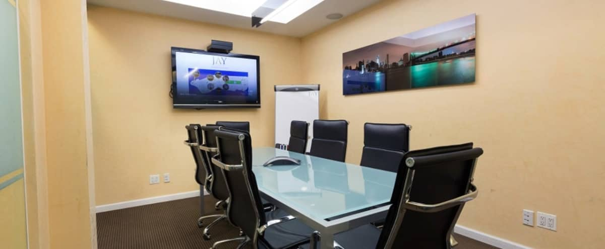 Private Meeting Room for 8- steps away from Grand Central Station in New York Hero Image in Midtown, New York, NY