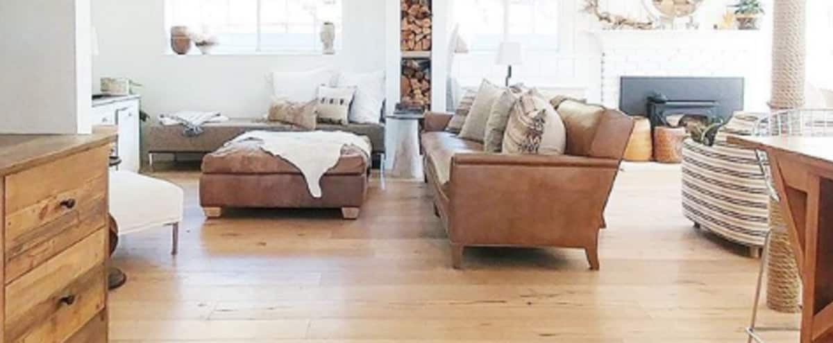 An unexpected interior in a rustic setting with an amazing view in Newbury Park Hero Image in undefined, Newbury Park, CA