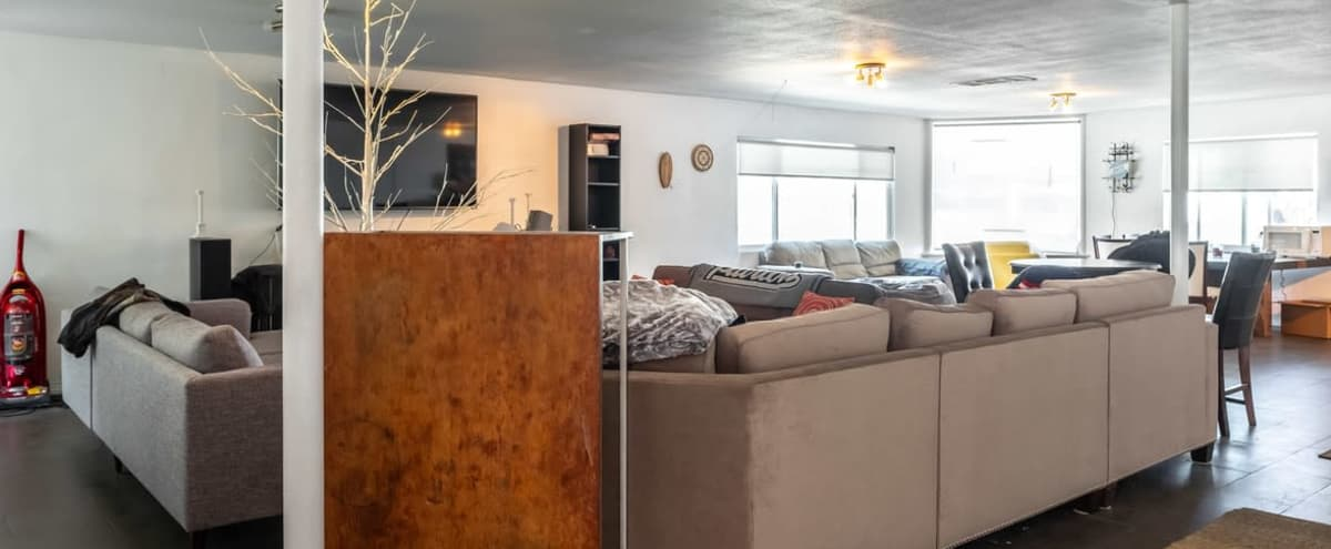 Unique furnished loft space in the heart of WeHo with south facing views in West Hollywood Hero Image in Central LA, West Hollywood, CA