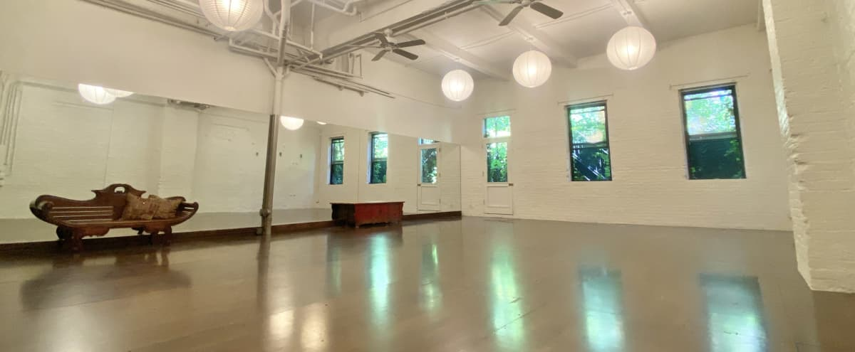 Downtown BK Loft Space, Industrial Chic with a Zen Vibe in Brooklyn Hero Image in Prospect Heights, Brooklyn, NY
