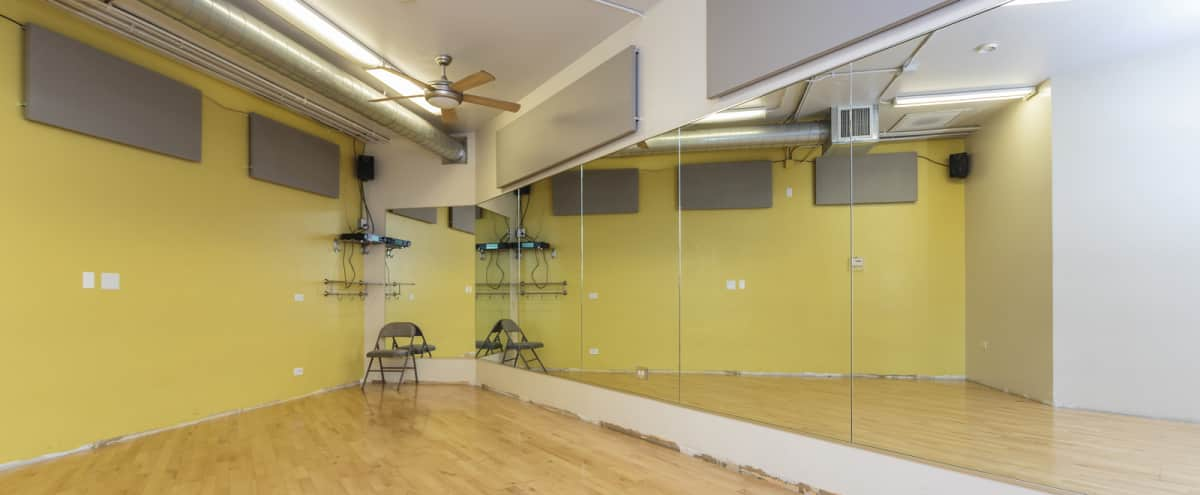 Small Dance Studio Available for Creative Use | Studio 1 in Chicago Hero Image in South Loop, Chicago, IL