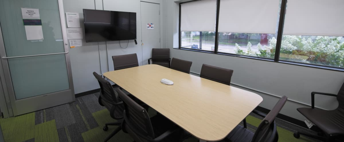 Private Natural Light Conference Room - 4K Monitor - Wireless Casting in St Paul Hero Image in Midway, St Paul, MN