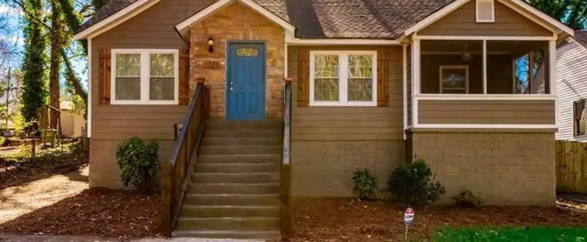 Charming Single-Family Home in the Heart of ATL in Atlanta Hero Image in Pomona Park, Atlanta, GA
