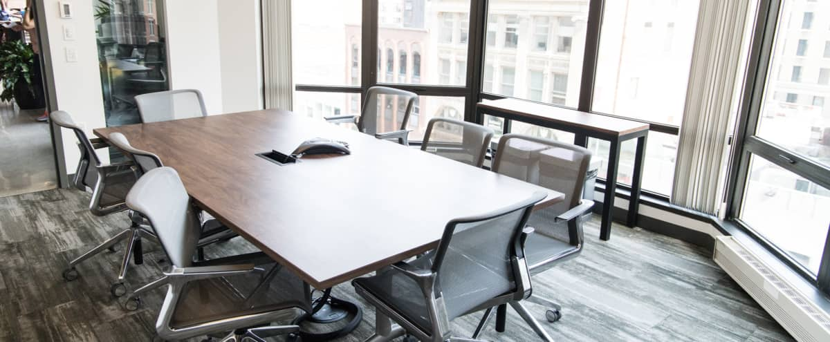 Sun-filled Meeting Space w/ a Gorgeous View in Boston Hero Image in Back Bay, Boston, MA