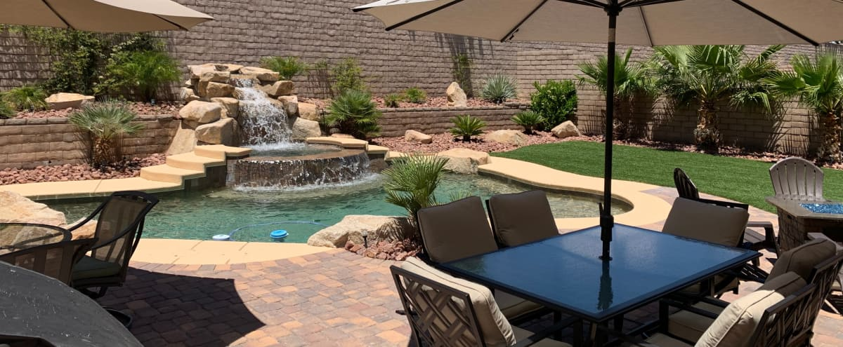 Summerlin Resort Style Home | Perfect for Intimate Events in Las Vegas Hero Image in Summerlin West, Las Vegas, NV