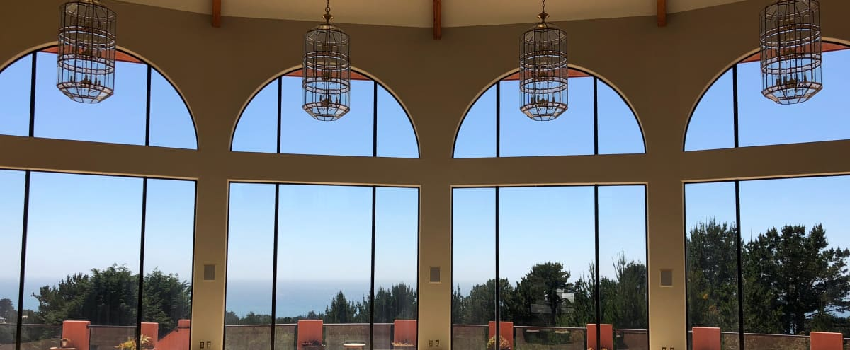 Large, extremely well lit, private estate offering breathtaking views of the Pacific Ocean in Montara Hero Image in undefined, Montara, CA