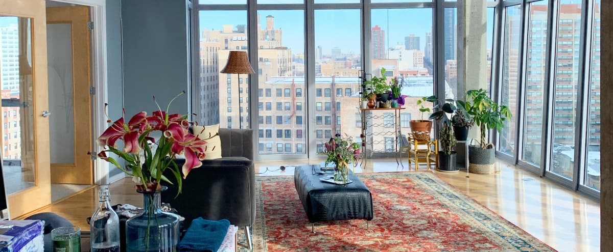 Spacious sunny loft with full views of Lake Michigan in Chicago Hero Image in Uptown, Chicago, IL