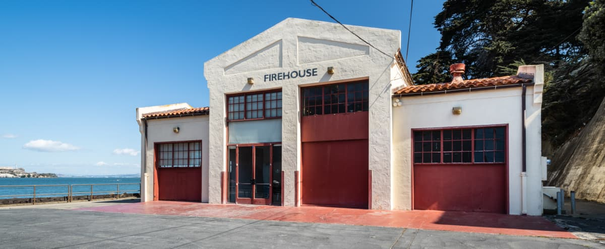 Historic Firehouse on the Water in San Francisco Hero Image in Marina District, San Francisco, CA