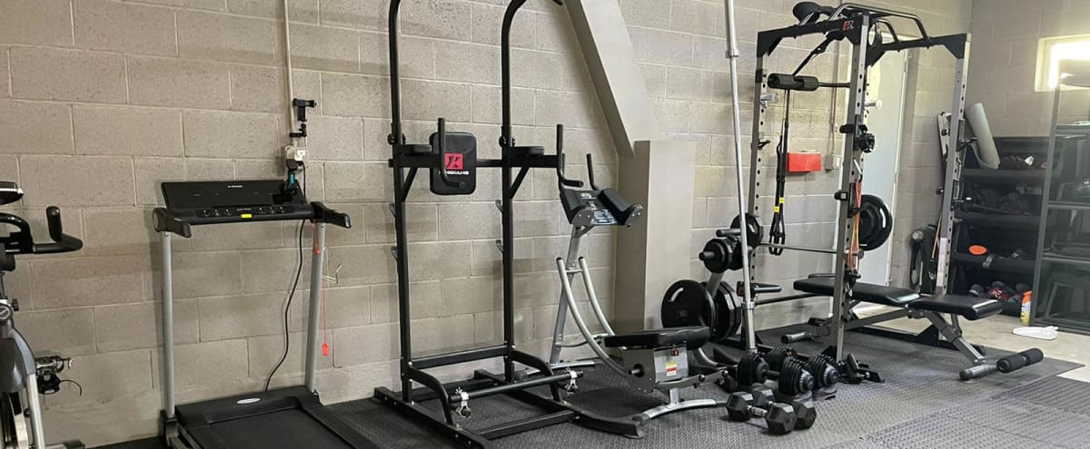 Complete Upgraded Home Gym in Long Beach Hero Image in Traffic Circle Area, Long Beach, CA