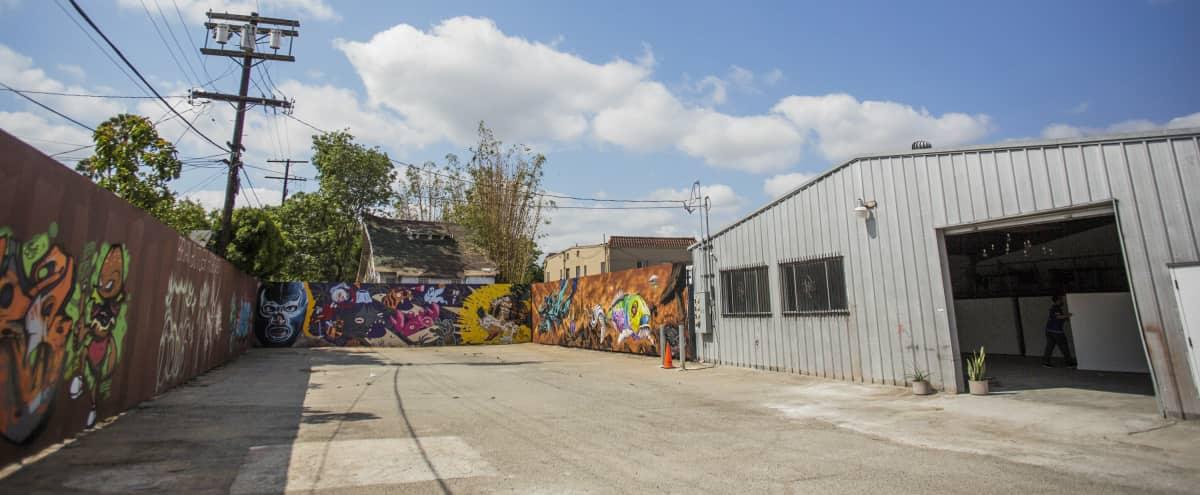 Outdoor Lot/Mural Yard in Los Angeles Hero Image in Central LA, Los Angeles, CA