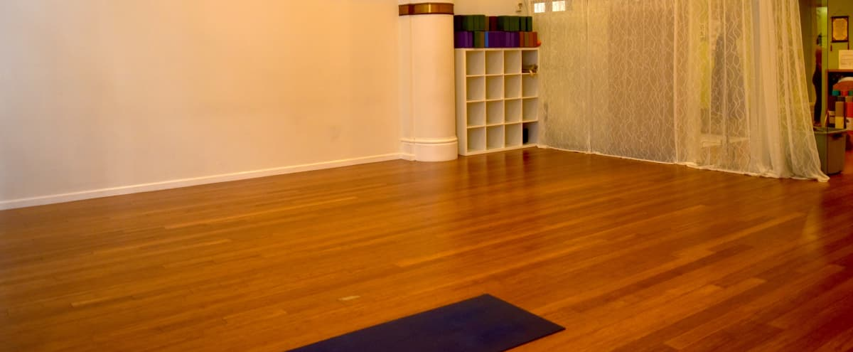 Bright Spacious Downtown Yoga Studio in San Francisco Hero Image in Financial District, San Francisco, CA