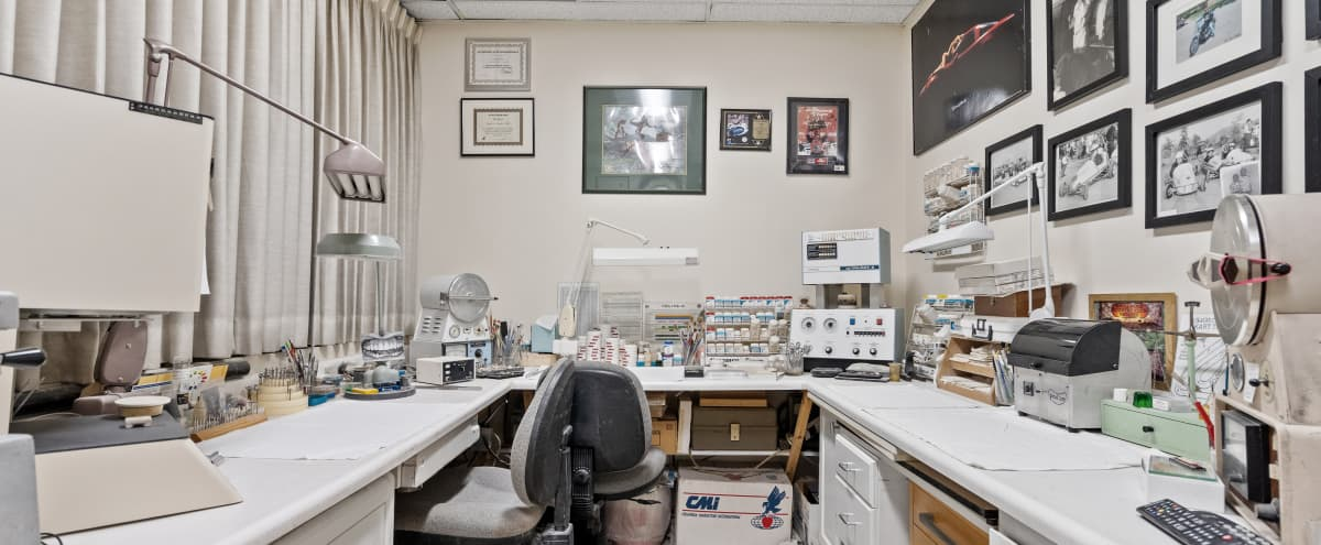 Equipped Dental Lab Filming Location in Chatsworth Hero Image in Chatsworth, Chatsworth, CA