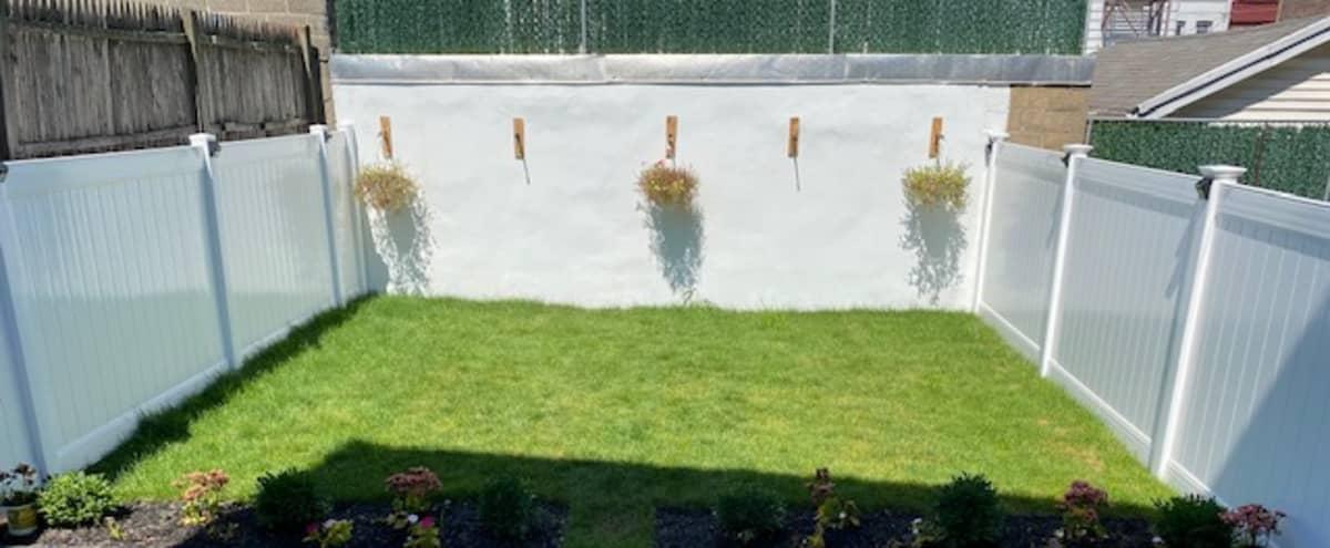 Beautiful Spacious Backyard For Rent in Newark Hero Image in Upper Roseville, Newark, NJ