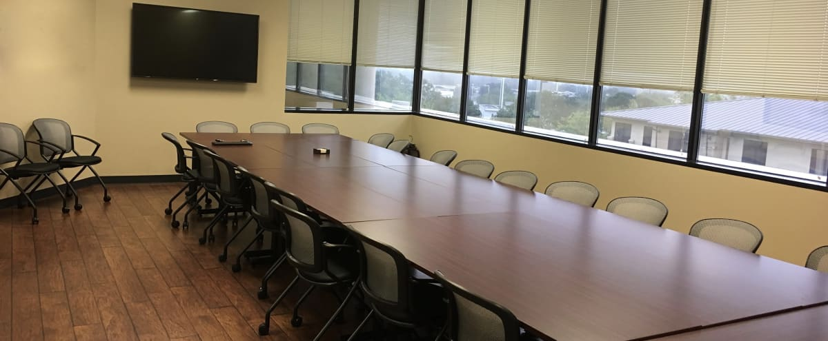 North Austin Spacious & Configurable Conference Room in Austin Hero Image in Riata Corporate Park, Austin, TX