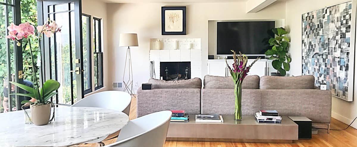 House in Hollywood Hills with unobstructed, spectacular views of city and San Gabriel Mountains. in Studio City Hero Image in Studio City, Studio City, CA