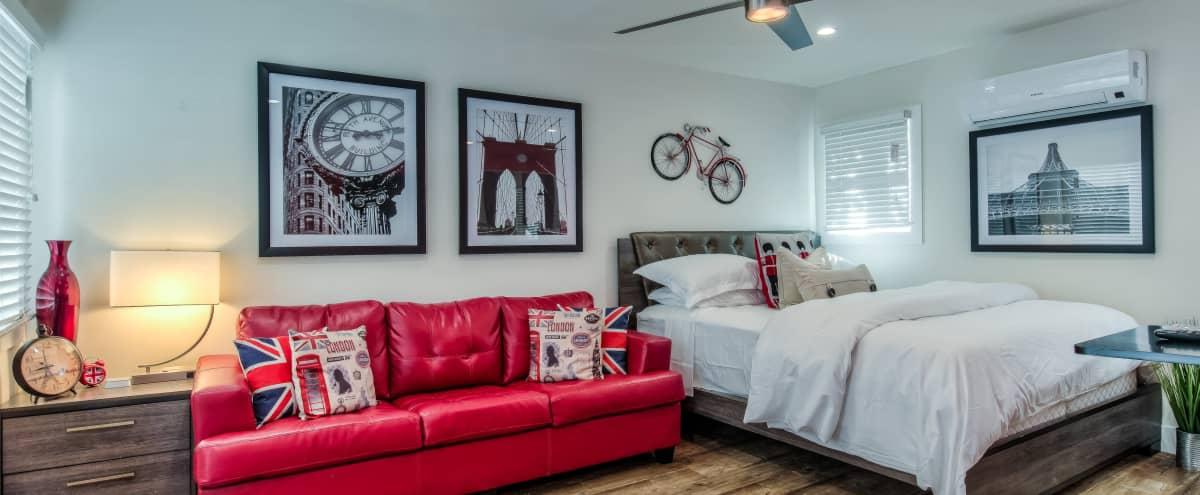Cozy Studio Apartment in Long Beach Hero Image in East Village, Long Beach, CA