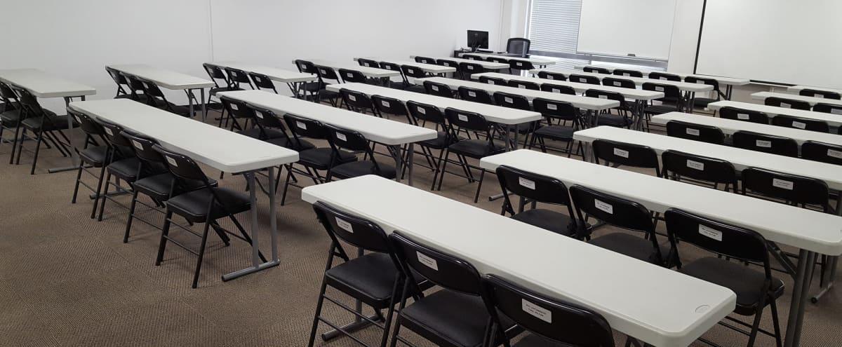 Spacious 70 Person Conference Room and Break Area in San Jose Hero Image in North San Jose, San Jose, CA
