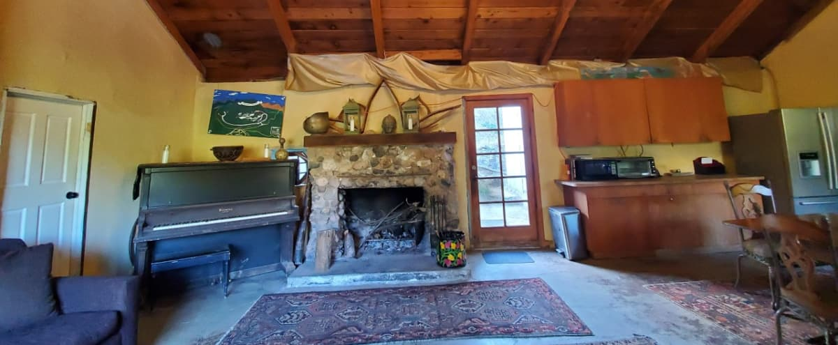 100yr + Stone House w/fireplace in Topanga Hero Image in undefined, Topanga, CA
